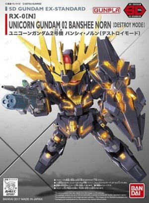 Gundam Unicorn 02 Banshee Norn SD