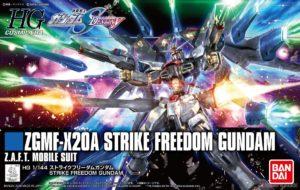 ZGMF X20A Strike Freedom Gundam HG