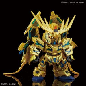 Unicorn Gundam 03 Phenex SD (destroy mode) (narrative ver.)