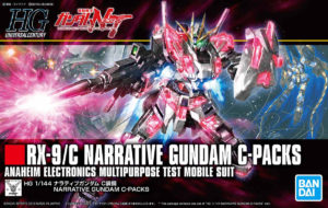 RX-9/C Narrative Gundam C-Packs HG