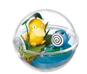 Pokemon Terrarium – Psyduck e Poliwag