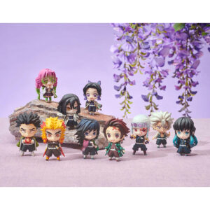Pré-Venda – Demon Slayer: Kimetsu no Yaiba Tanjiro and the Pillars Mascot Set B (5 peças).