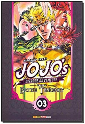 Jojo'S Bizarre Adventure. Battle Tendency – Parte 2 vol 3